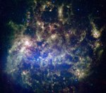 large magellanic cloud spitzer telescope
